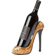 KitchInnovations Leopard Print High Heel 1 Bottle Tabletop Wine Rack