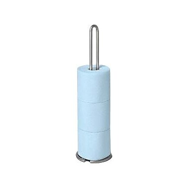Spectrum Diversified Euro Free Standing Toilet Tissue Reserve; Satin Nickel