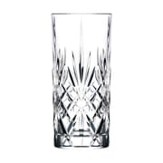 Lorren Home Trends Melodia RCR Crystal 11 Oz. Highball Glass (Set of 6)
