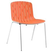 Modway Trace Side Chair; Orange
