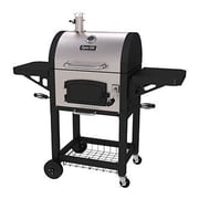 Dyna-Glo Charcoal Grill w/ Grates and Charcoal Door; Stainless Steel