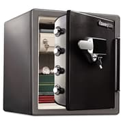 SentrySafe Fireproof Touchscreen with Alarm Lock Security Safe 1.23 CuFt