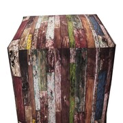 Arthouse Innovations Old Wood Paint Ottoman
