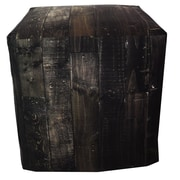 Arthouse Innovations Dark Wood Ottoman