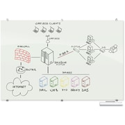 Best-Rite Visionary, 6' x 4', Glass Magnetic Board (83845)