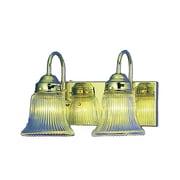 Aurora Lighting A19 Bath Vanity Lamp, Polished Brass(STL-VME215128)
