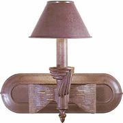 Aurora Lighting B11 Bath Vanity Lamp, Prairie Rock and Gold(STL-VME679111)