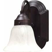 Aurora Lighting A19 Bath Vanity Lamp, Antique Bronze(STL-VME913413)
