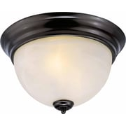 Aurora Lighting Incandescent Flush Mount, Antique Bronze (STL-VME816770)