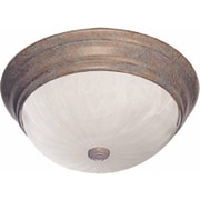 Aurora Lighting Incandescent Flush Mount, Prairie Rock (STL-VME777329)