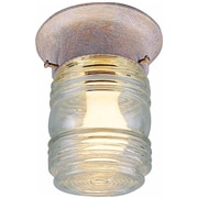Aurora Lighting Incandescent Flush Mount, Prairie Rock (STL-VME773062)