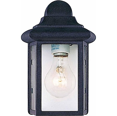 Aurora Lighting A19 Outdoor Wall Sconce Lamp (STL-VME588789)