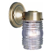 Aurora Lighting A19 Outdoor Wall Sconce Lamp (STL-VME115220)