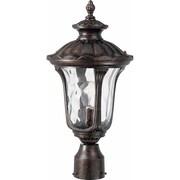 Aurora Lighting A19 Outdoor Post Mount Lamp (STL-VME284667)