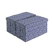 Aurora Lighting Milhall Fabric Storage Bench Blue 1 STP-TLC3109154