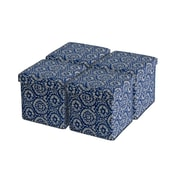 Aurora Lighting Owasco Fabric Storage Ottoman Blue 1 STP-TLC3109086