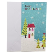 JAM Paper® Christmas Money Cards Set, Happy Holidays Wonderland, set of 6 (526IG74700)