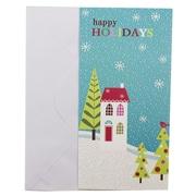 JAM Paper® Christmas Happy Holidays Wonderland Money Cards, 6/Pack (526IG74700)