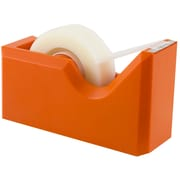 JAM Paper® Modern Tape Dispensers, Orange, 1/Pack (338or)