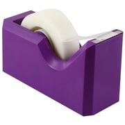 JAM Paper® Modern Tape Dispensers, Purple (338pu)