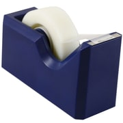 JAM Paper® Modern Tape Dispensers, Navy Blue (338na)