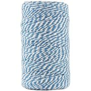 JAM Paper® Bakers Twine, Blue and White, 109 Yards, Sold Individually (349530307)