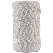 JAM Paper® Bakers Twine, Grey and White, 109 Yards, Sold Individually (349530309)