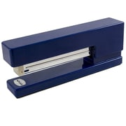 JAM Paper® Modern Desk Stapler, Navy Blue, Sold Individually (337NA)