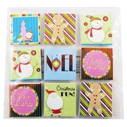 JAM Paper® Gift Tags, Colorful Christmas Gift Tags, Assorted Pack of 18 tags, 1/Pack (526IG74714)
