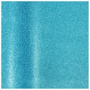 JAM Paper® Glitter Gift Wrapping Paper, 11.5 sq. ft., Aqua Blue Sparkles, Sold Individually (354530531)