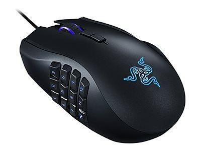 Razer RZ01-01610100-R3U1 Naga Epic Chroma USB Wireless Laser Gaming Mouse, Black
