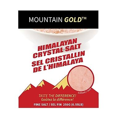My Gourmet – Sel Mountain Gold, 250 g/pqt, 24 pqt/caisse