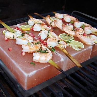 My Gourmet – Planche de cuisson de sel himalayen avec plateau