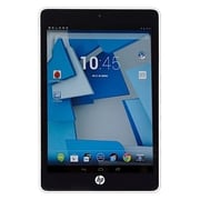 "Refurbished HP G4U04UT-FB-RC 8"" Tablet 16GB Android 4.4 KitKat White"