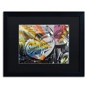 "Trademark Fine Art ''Coupon Stories'' by Dan Monteavaro 16"" x 20"" Black Matted Black Frame (886511778931)"