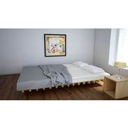 Quagga Designs Funline Nf200 Platform Bed, Natural Birch Oiled