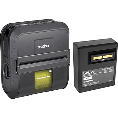 Brother RJ4030CA-K Rugged Jet Bluetooth Mobile Printer Kit