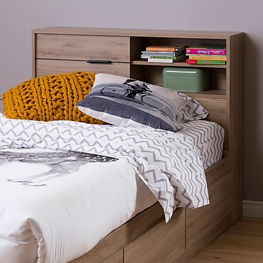 South Shore Fynn Twin Headboard with Storage (39