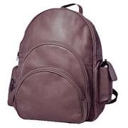 David King Expandable Loop Handle Laptop Backpack; Caf  / Dark Brown