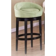 Armen Living Igloo 26'' Swivel Bar Stool; Green