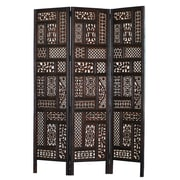 Home & More 70'' x 54'' Hemmingway 3 Panel Room Divider