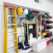 Flow Wall Garage & Hardware Storage System