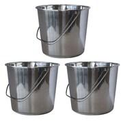 AmeriHome Bucket (Set of 3); Medium