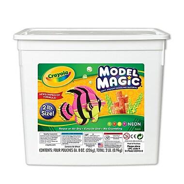 Crayola® Model Magic® Bucket, Neon, 2 LB