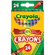 Crayola® - Crayons de couleur, paq. de 24, couleurs variées