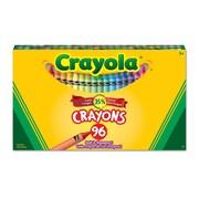 Crayola® – Grosse boîte, 96 crayons de cire