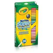 Crayola® - Marqueurs lavables Supertip, paq./24