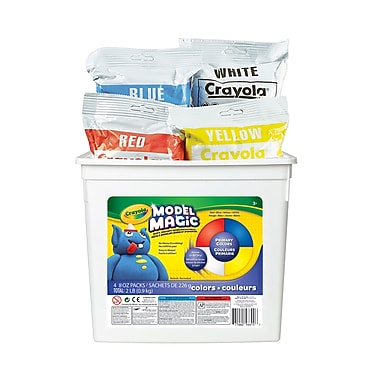 Crayola® Model Magic Bucket, Assorted Colours, 907g