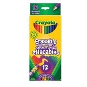 Crayola® - Crayons de couleurs effaçables, paq./12