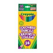 Crayola® – Crayons de couleurs, paq./24